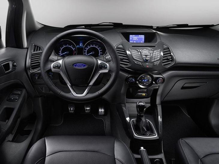 ford ecosport blue interior the image kid has it. Black Bedroom Furniture Sets. Home Design Ideas