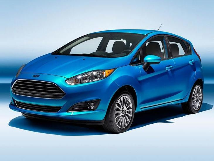Ford Fiesta Blue Exterior Front
