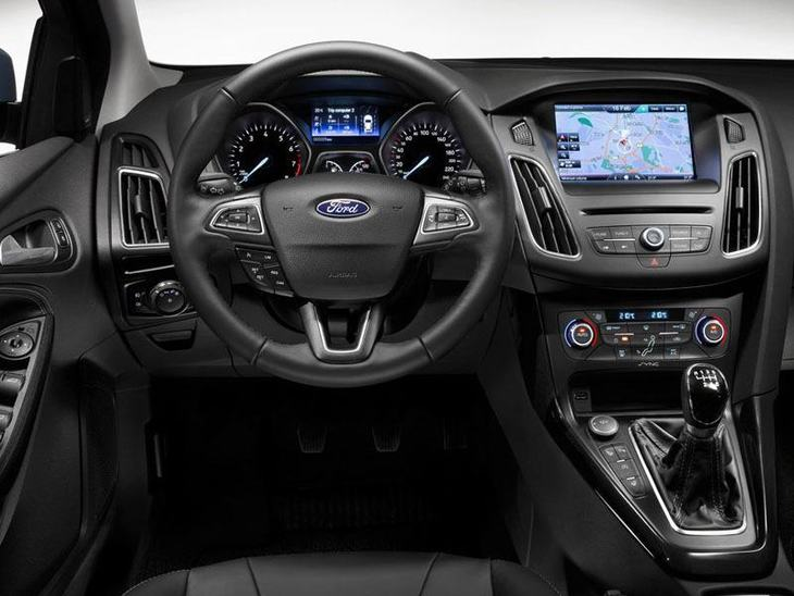 Ford Focus Black Interior