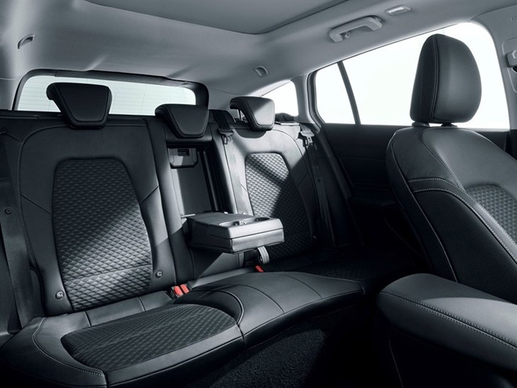 A View of the Rear Passenger Seats in the New Ford Focus Estate 2019