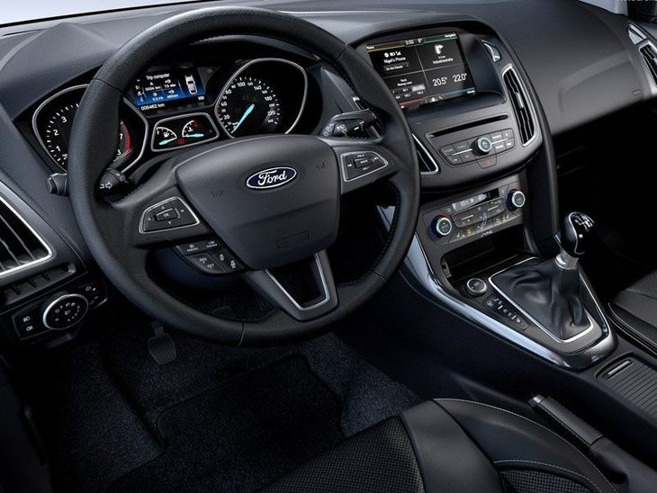 Ford Focus Estate Black Interior
