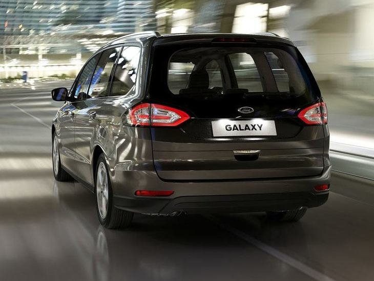 Ford Galaxy Grey Exterior Back