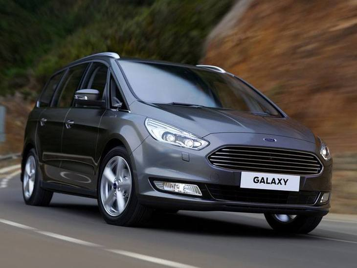 Ford Galaxy Grey Exterior Front