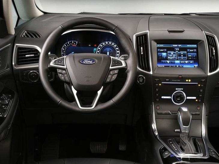 Ford Galaxy Grey Interior