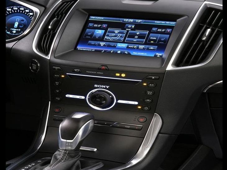 Ford Galaxy Grey Interior2