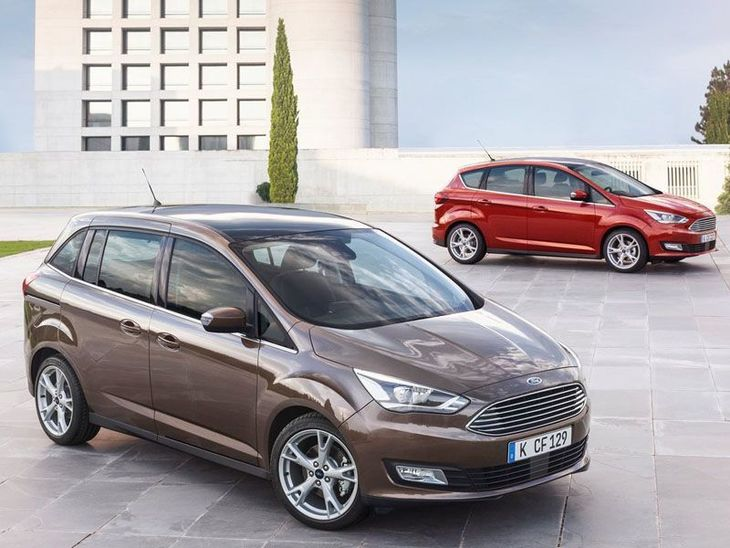 Ford Grand C-MAX Brown Range