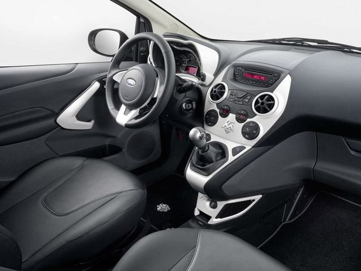 Ford Ka Black Interior