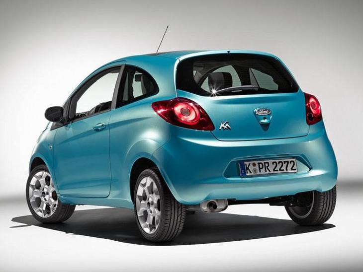 Ford Ka Blue Exterior Back