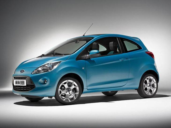 Ford Ka Blue Exterior Front