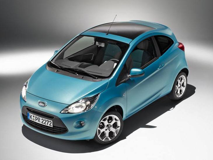 Ford Ka Blue Exterior Top