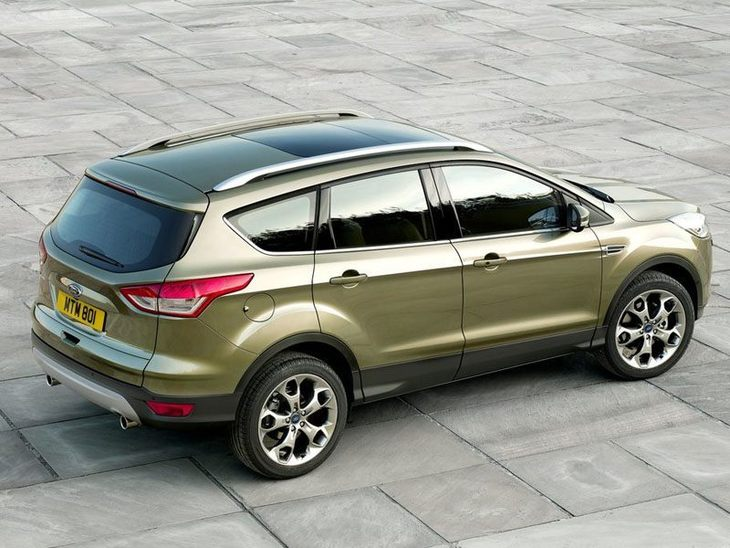 Ford Kuga Green Exterior Side