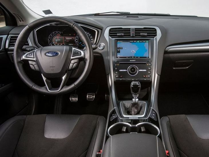 Ford Mondeo Black Interior