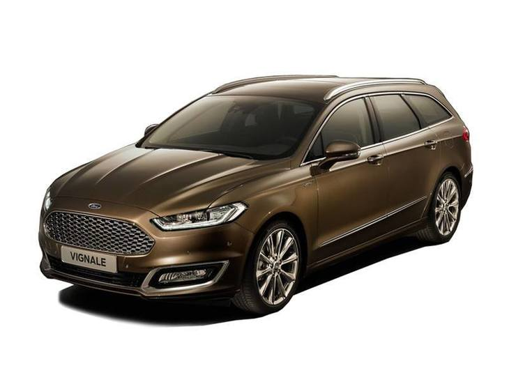 Ford Mondeo Vignale Estate Brown Exterior Front