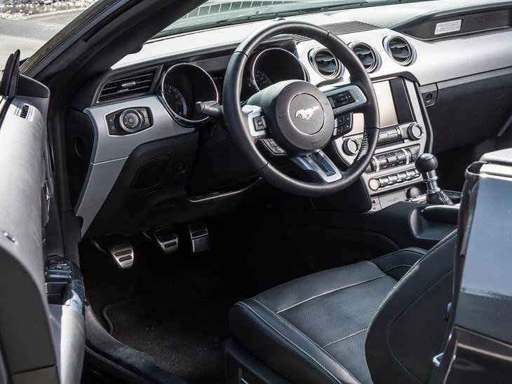Ford Mustang Convertible Black Interior