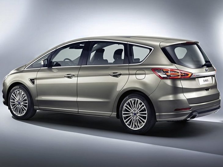 Ford S-MAX Silver Exterior Back