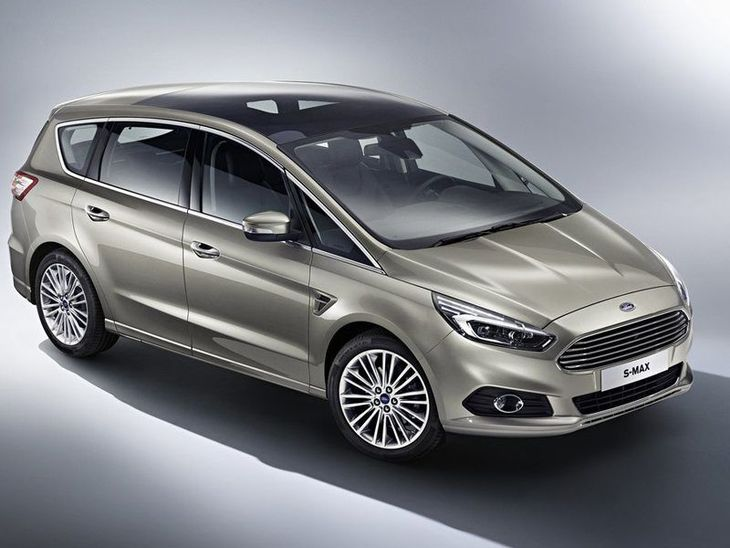 Ford S-MAX Silver Exterior Front