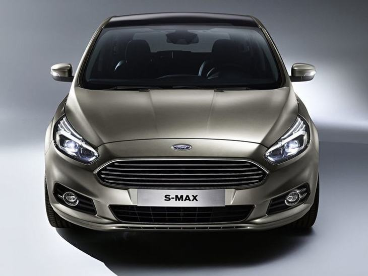 Ford S-MAX Silver Exterior Front2