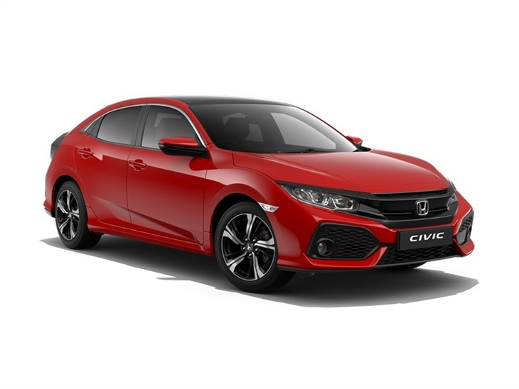honda civic 1 0 vtec turbo ex tech pack car leasing nationwide vehicle contracts. Black Bedroom Furniture Sets. Home Design Ideas