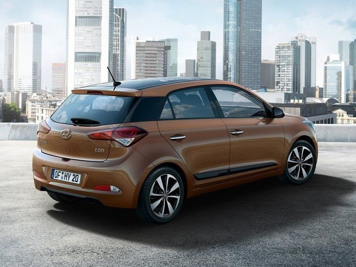 Hyundai i20 Brown Exterior Back