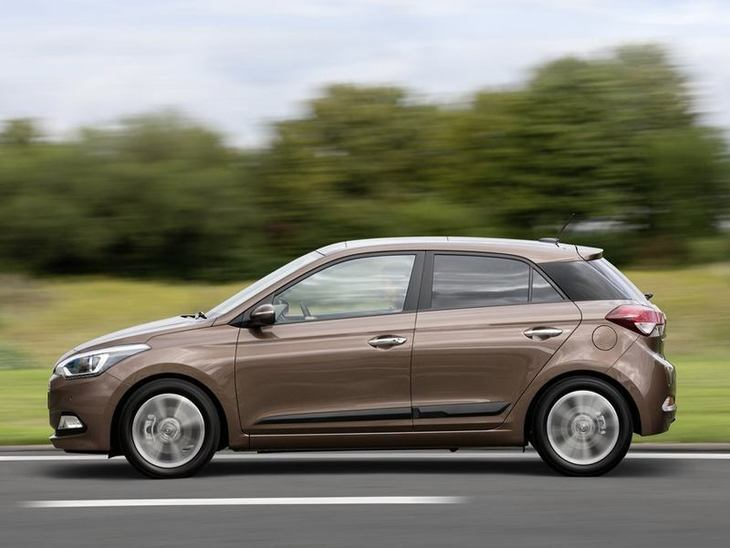 Hyundai i20 Brown Exterior Side
