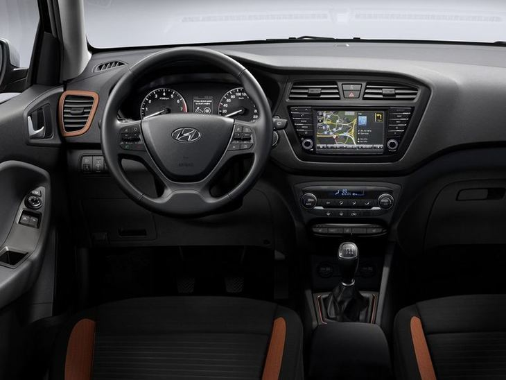 Hyundai i20 Coupe Black Interior