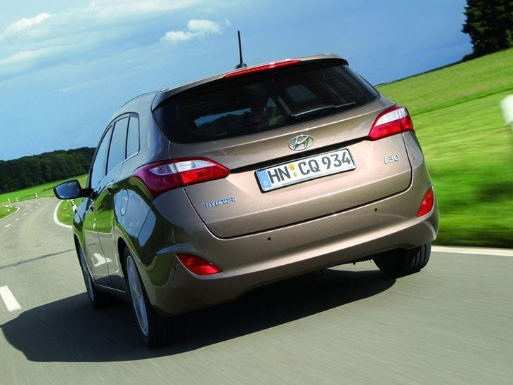 Hyundai i30 Tourer Brown Exterior Back
