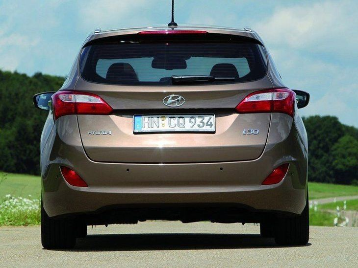 Hyundai i30 Tourer Brown Exterior Back2