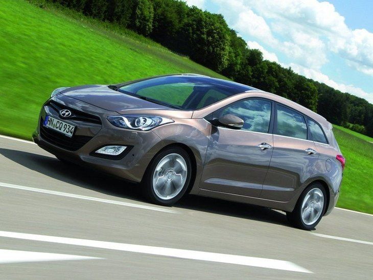 Hyundai i30 Tourer Brown Exterior Side