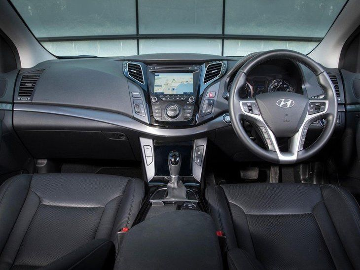 Hyundai i40 Tourer Black Interior