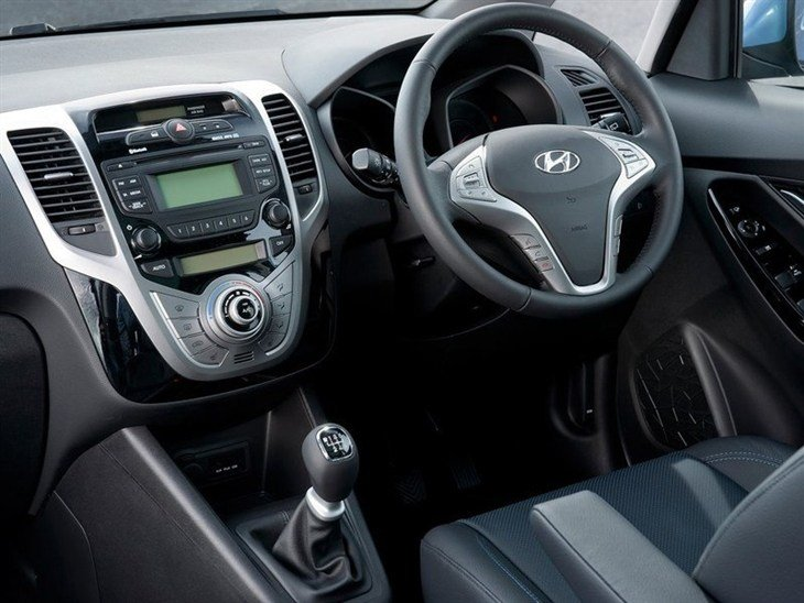 Hyundai ix20 Black Interior