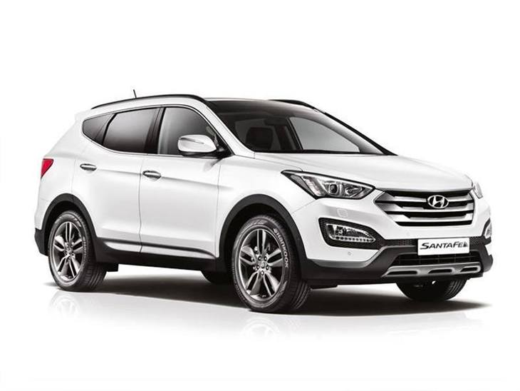 hyundai santa fe 2 2 crdi premium se auto 7 seat car. Black Bedroom Furniture Sets. Home Design Ideas