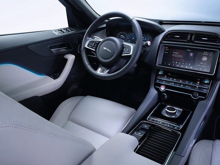 Jaguar F-PACE Black Interior