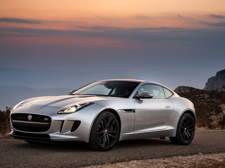 Jaguar F Type Coupe Exterior Red Front 2