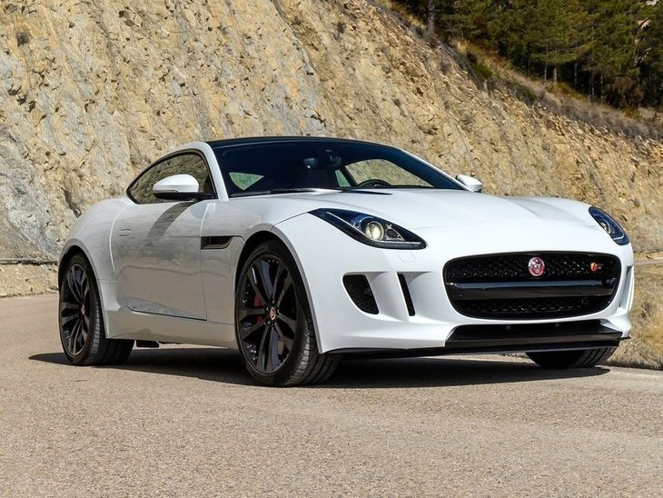 Jaguar F Type Coupe Exterior Red Front