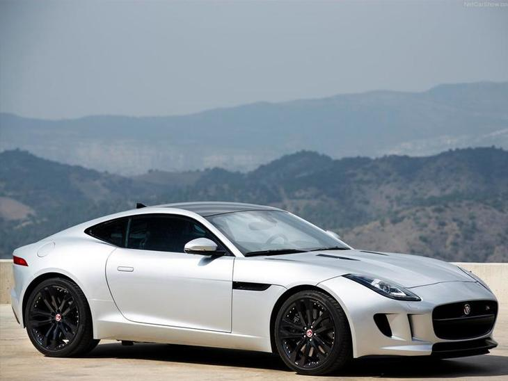 Jaguar F Type Coupe Exterior White Front 3