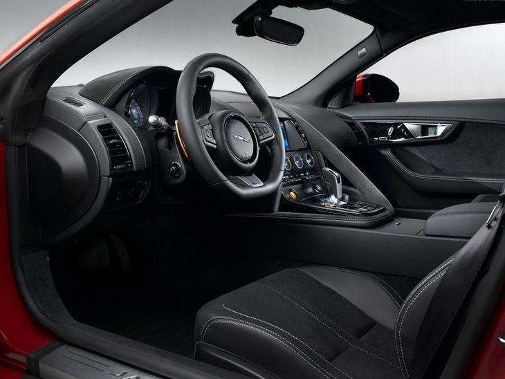 Jaguar F Type Coupe Interior