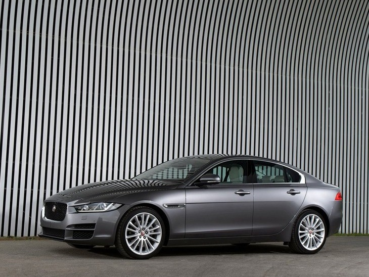 Jaguar XE Grey Exterior Side
