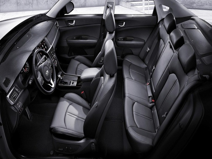 Kia Optima Black Interior Seats