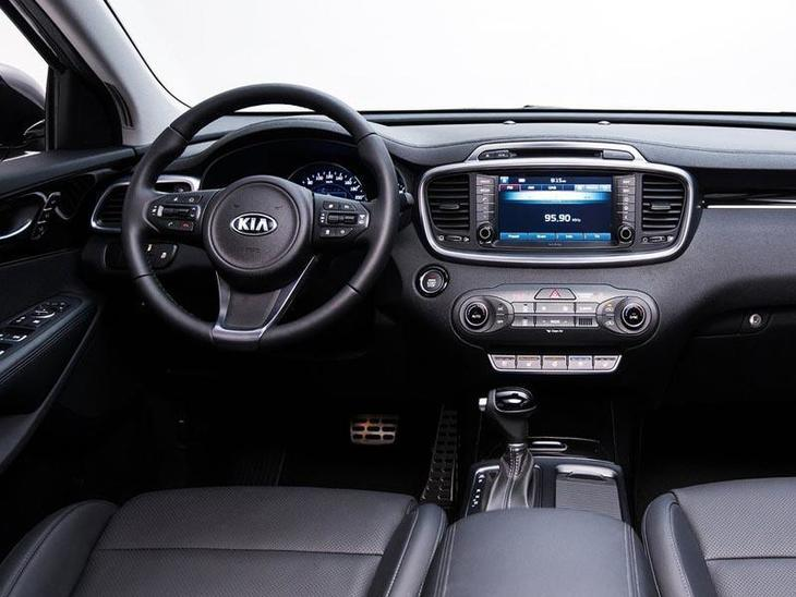 Kia Sorento Black Interior