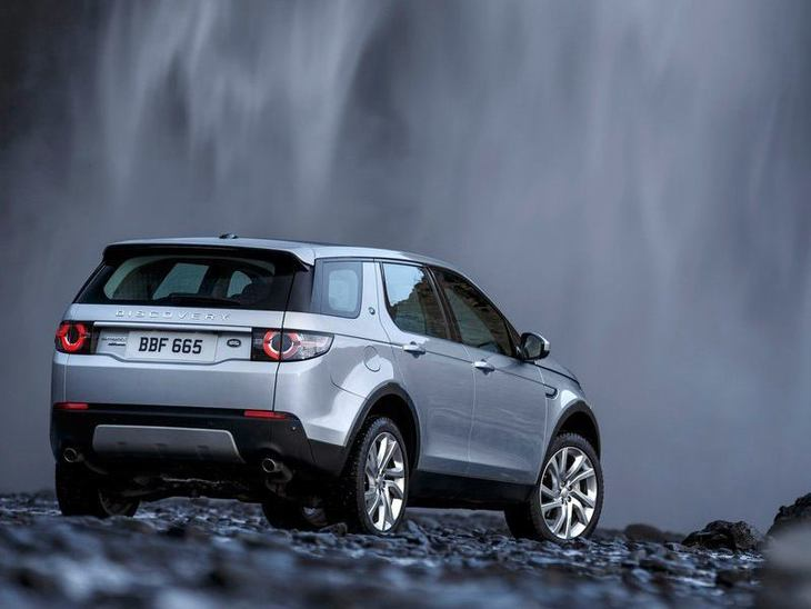 Land Rover Discovery Sport Silver Exterior Back