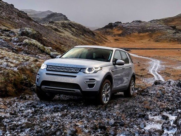 Land Rover Discovery Sport Silver Exterior Front 2