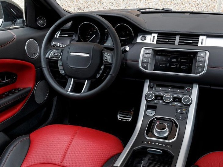 Land Rover Range Rover Evoque Coupe Interior