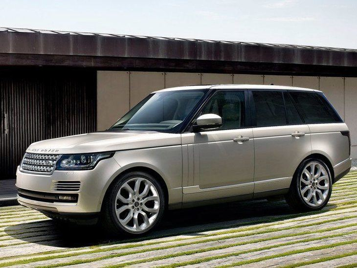 Land Rover Range Rover Silver Side