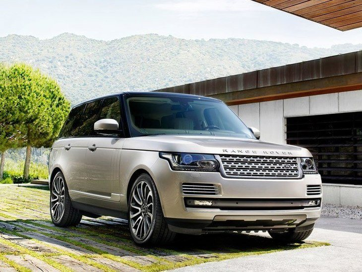 Land Rover Range Rover Silver Front