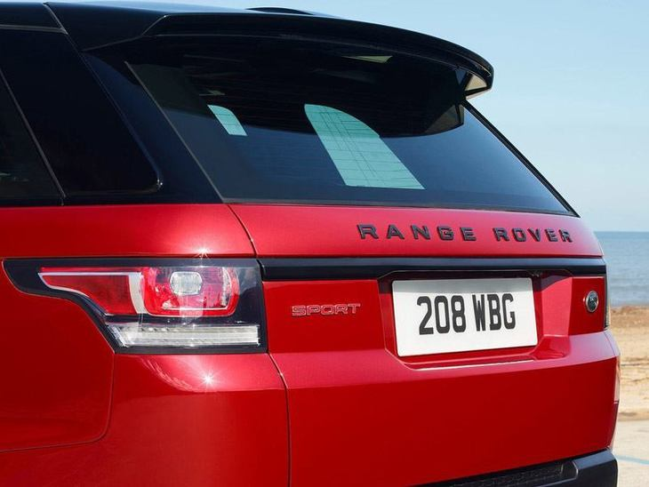 Land Rover Range Rover Sport Red Exterior Back 2