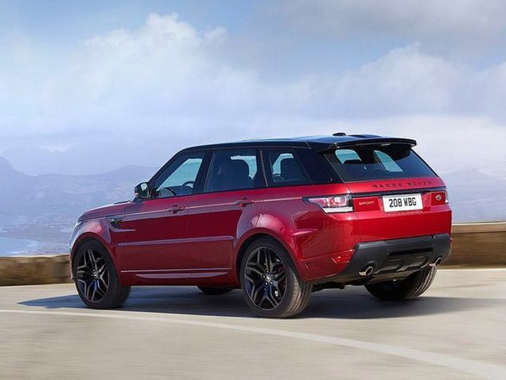 Land Rover Range Rover Sport Red Exterior Back