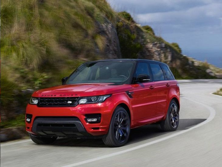 Land Rover Range Rover Sport Red Exterior Front