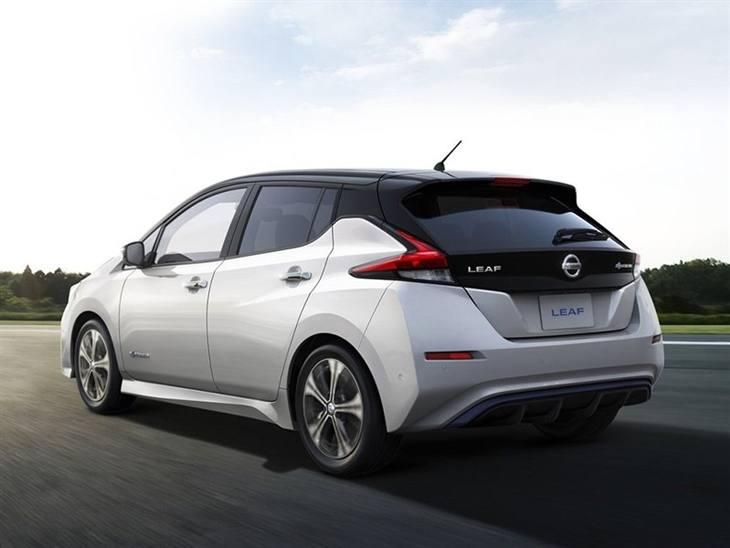 Nissan Leaf Tekna Auto Car Leasing Nationwide Vehicle