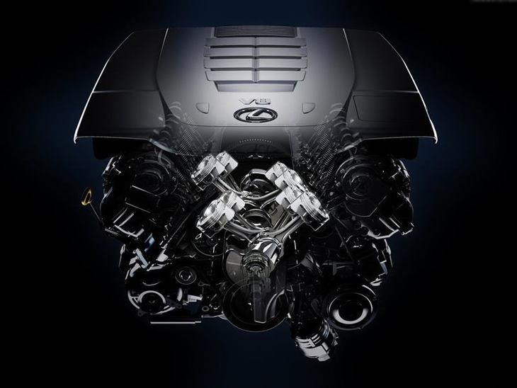Lexus LS Saloon Engine