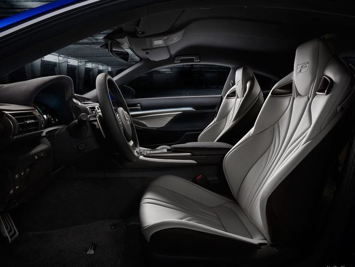 Lexus RC F Coupe Interior 2